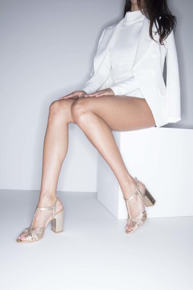 Bianca Buccheri Carola Sandal Gold