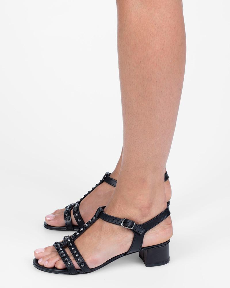 Bianca Buccheri Amadea Sandals Black