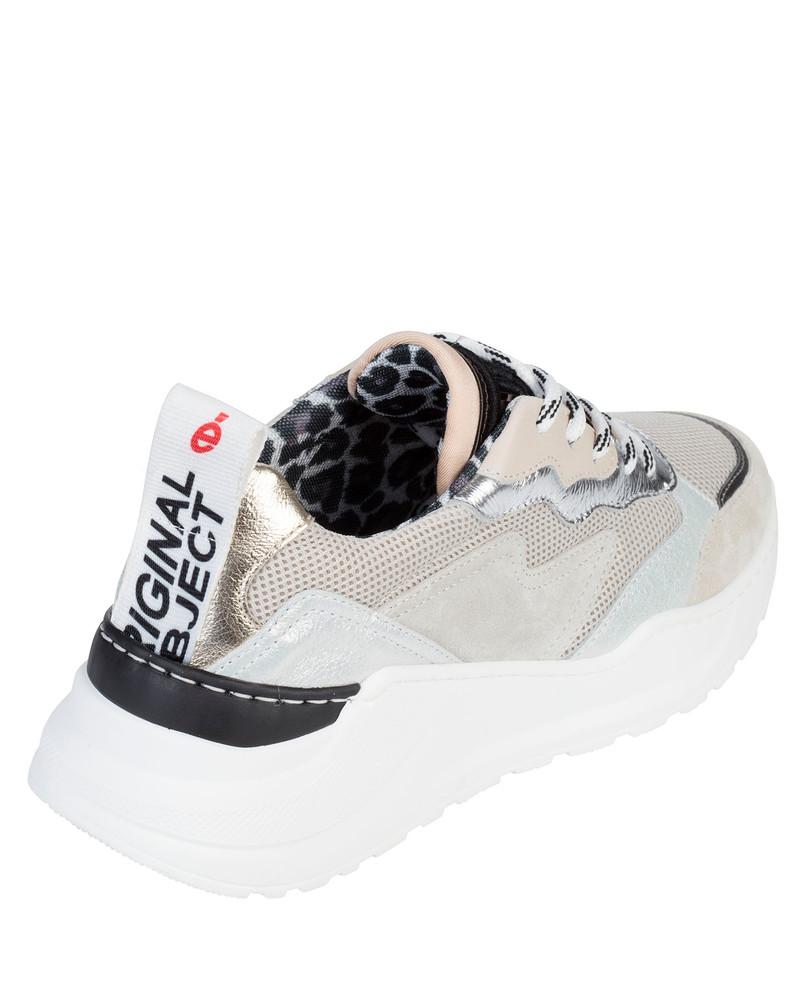 Bianca Buccheri Spiga Sneaker Bone