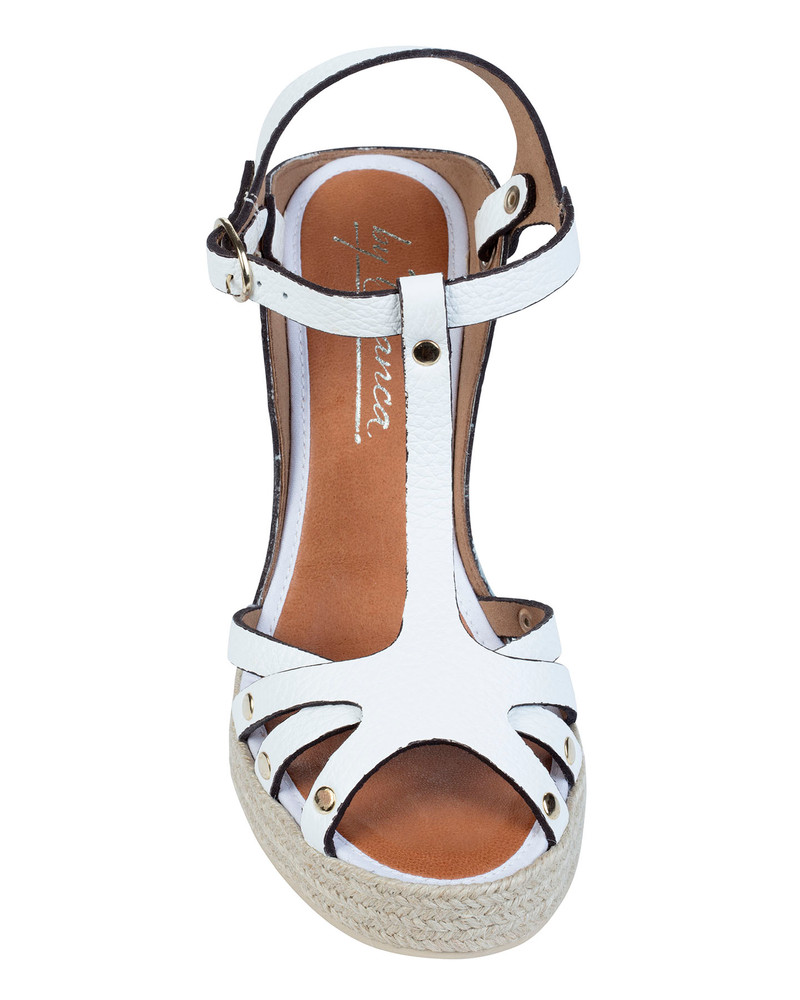By Bianca Palermo Wedge  White