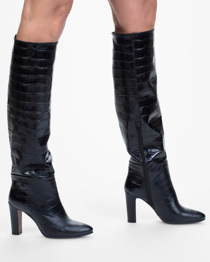 Bianca Buccheri Genoa Boot Black