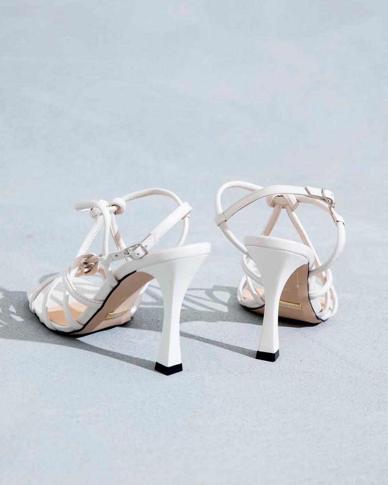 Clarice Off White Sandals