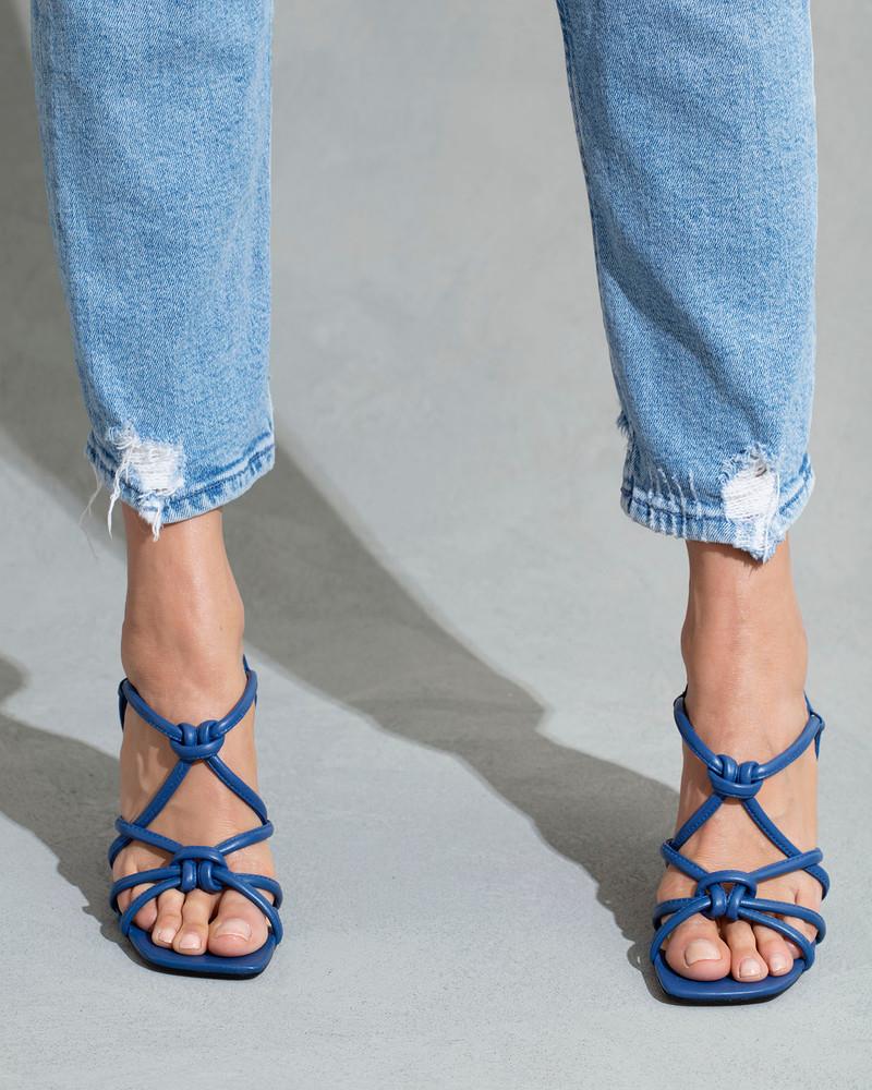 Clarice Blue Sandals