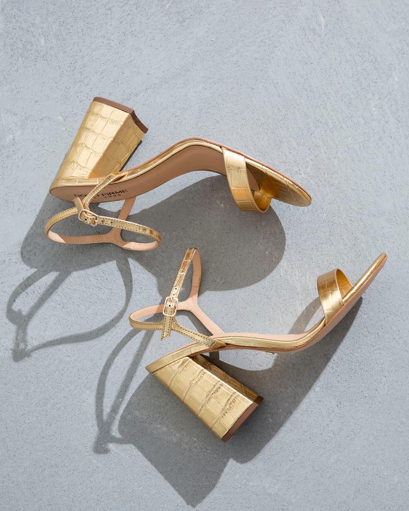 Gemma Gold Sandals