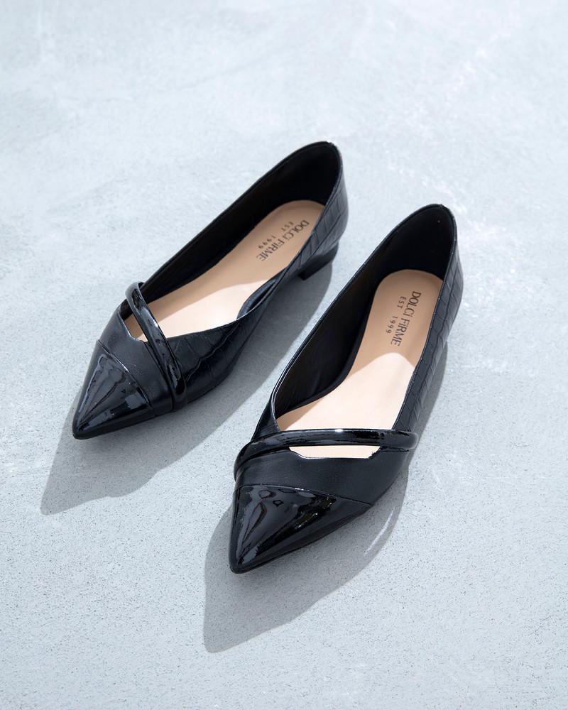 Marissa Black  Flats