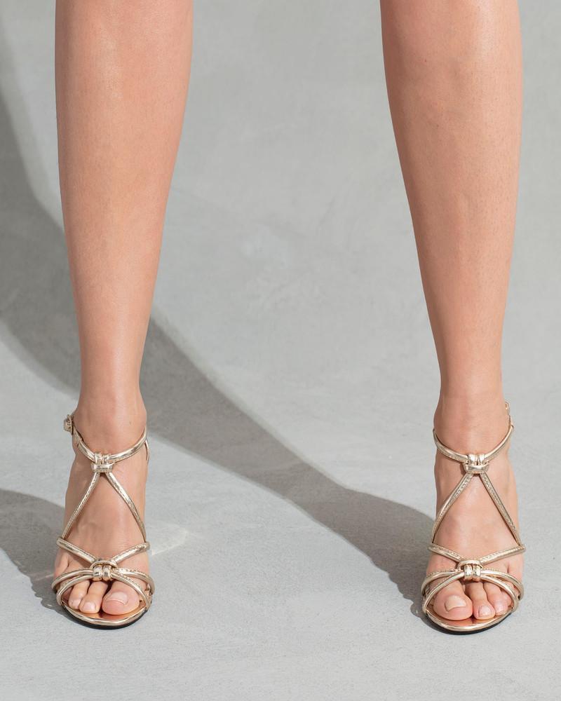 Carlotta Gold Sandals