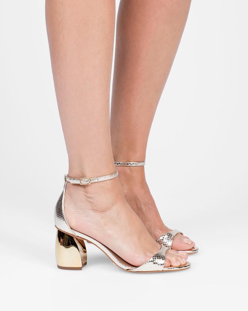 Violetta Gold Sandals