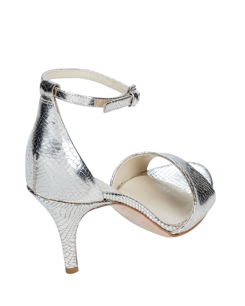 Bianca Buccheri 2005Bb Coretta Heel Silver