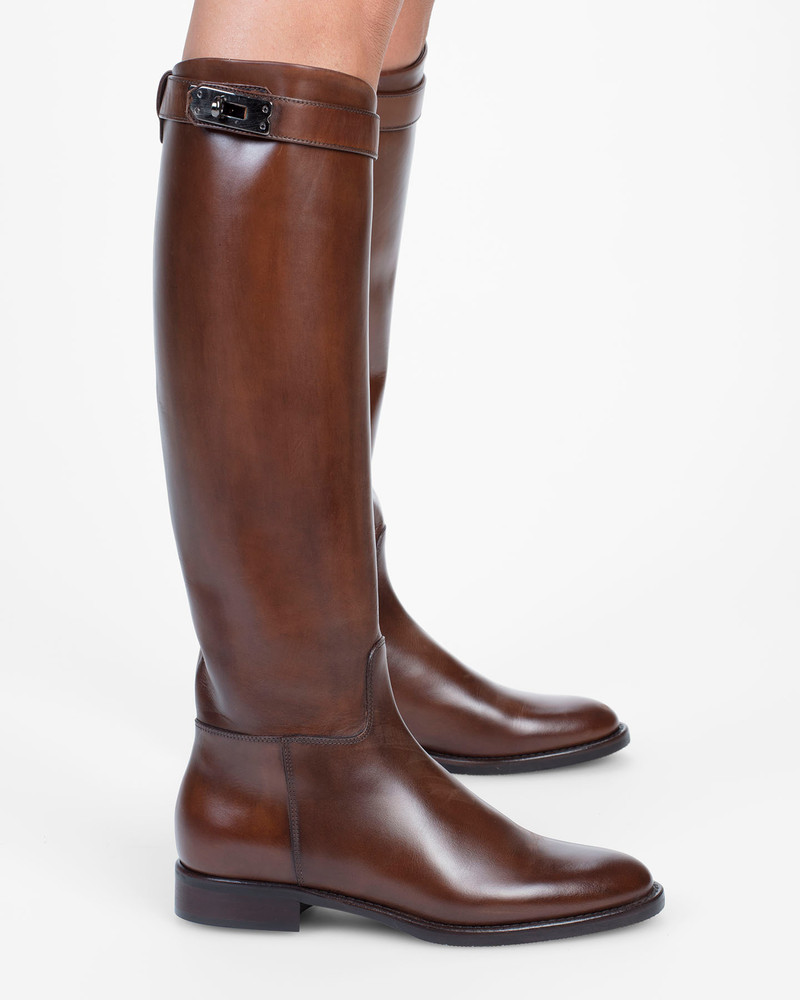 Bianca Buccheri Palmira Boot Brown