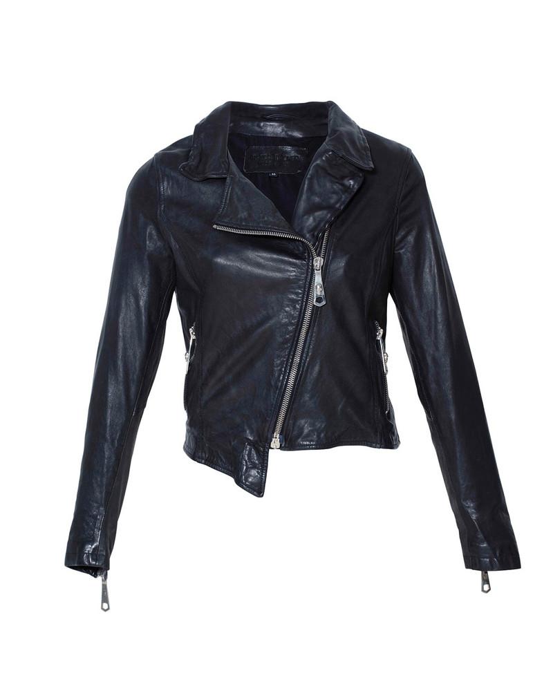 Bianca Buccheri Celine Leather Jacket Black
