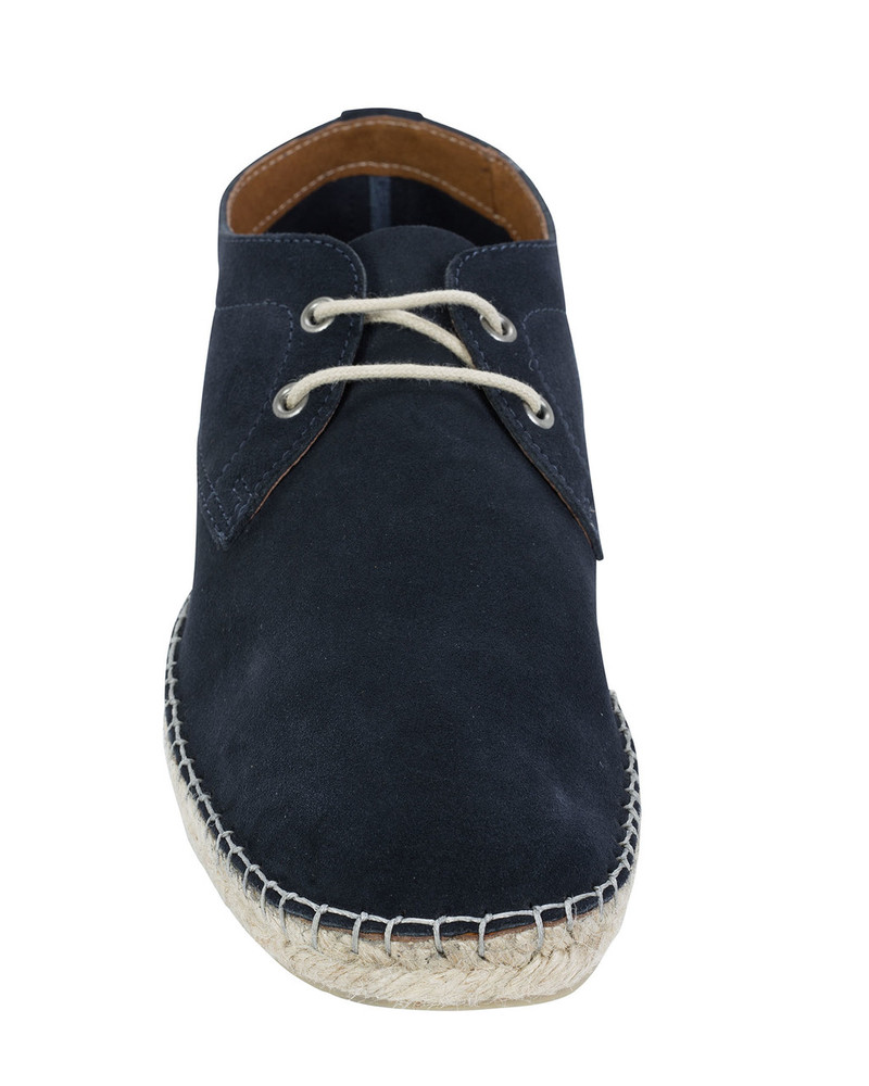 Norberto Costa Elvin Espadrille Lace Up Navy