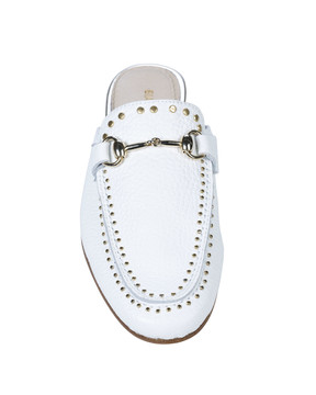 Bianca Buccheri 1097bb Hadi Loafer White front view