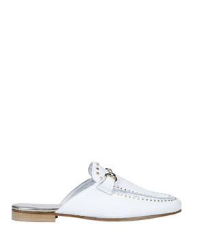 Bianca Buccheri 1097bb Hadi Loafer White side view