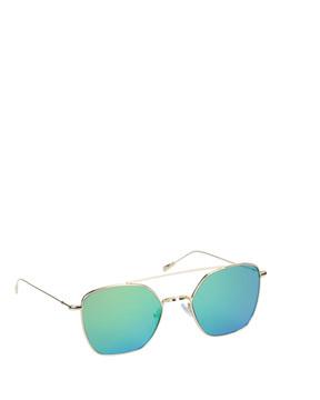 Spektre DV01BFTs Renia Sunglasses Green side view