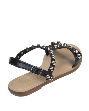 By Bianca 1997bb Samara Sandal Black back view