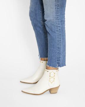 Bianca Buccheri Dasha Boot Ivory