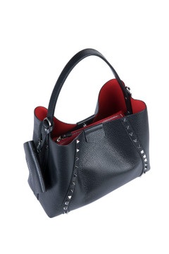 Loristella 2178L Becky Bag RED STUDDED