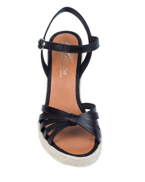 By Bianca Capri Wedge Black