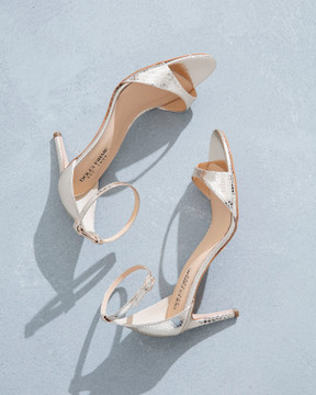 Liliana Gold Sandals