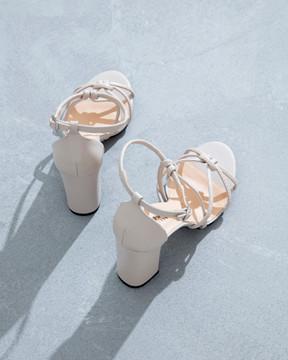 Carlotta Nude Sandals