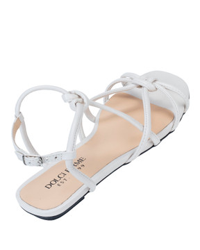 Sara Cream Sandals