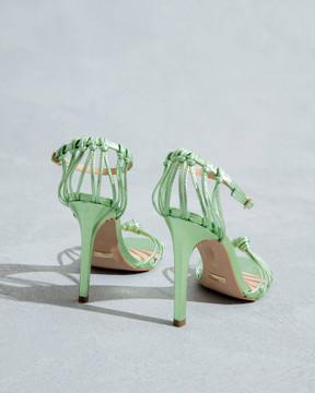 Zara Green Sandals