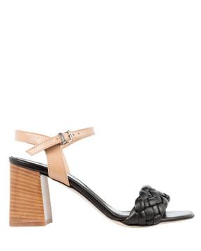 Bianca Buccheri 7749 Venere Black Sandals