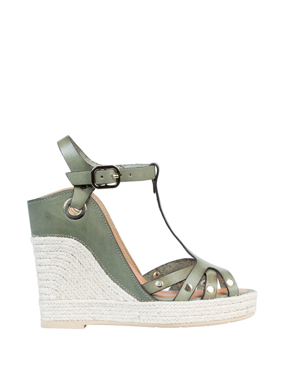 By Bianca Palermo Wedge Khaki