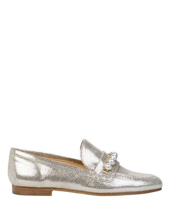 Bianca Buccheri ZENAbb Zena Loafer Gold side view