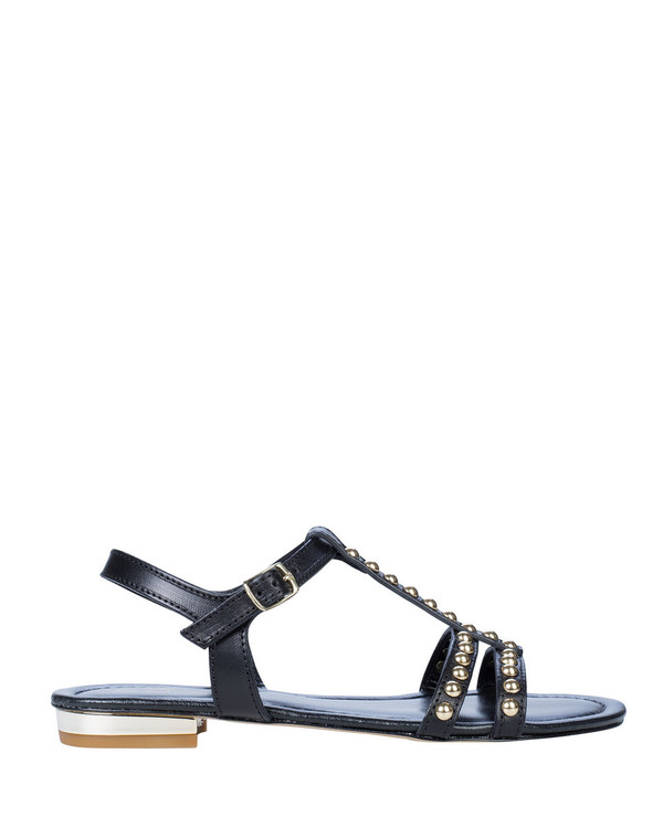 By Bianca 2210bb Kaelan Sandal Black side view