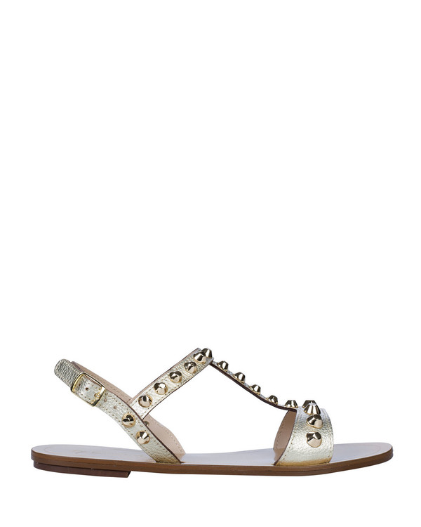 By Bianca 1997bb Samara Sandal Platino side view