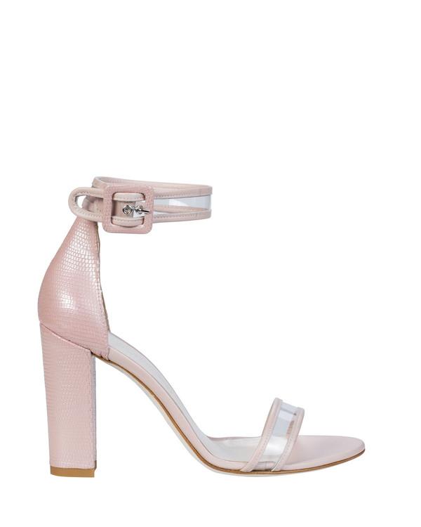 Bianca Buccheri EP08bb Sapri Sandal Pink side view