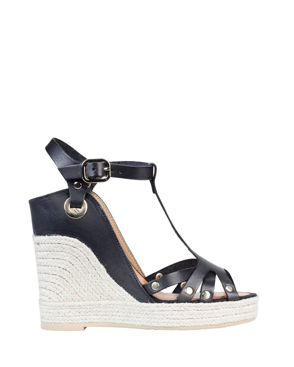 By Bianca Palermo Wedge Black