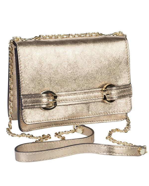 Gianni Chiarini Moccassina Bag Antique Gold