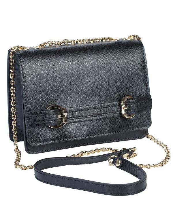 Gianni Chiarini Moccassina Bag Black