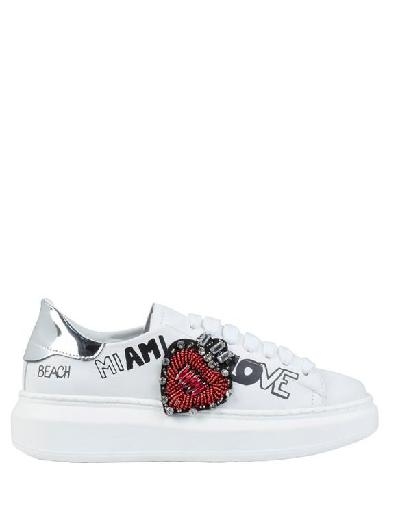 Bianca Buccheri Miami Sneaker White