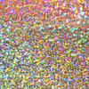 Holographic silver heat transfer vinyl sheet