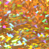 Siser holographic gold crystal heat transfer vinyl iron on sheet