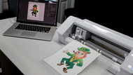 How to Print and Cut in the Silhouette Studio Software