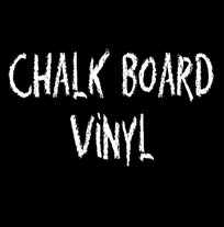 Chalkboard vinyl for craft cutters