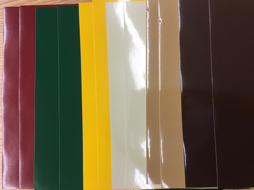 Autumn Color Pack - Oracal 651 - 12 sheets