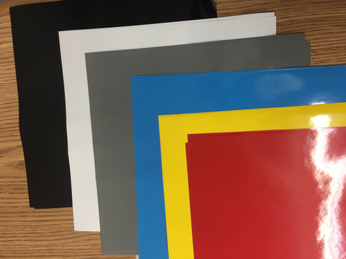 Oracal 651 Basic Color Pack  (12 Sheets)