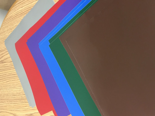 Oracal 651 - Color Pack - Jewel Colors (12 Sheets)