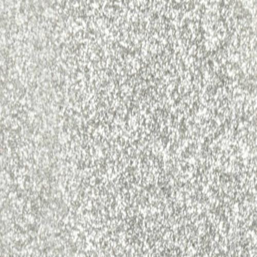 Glitter silver htv roll