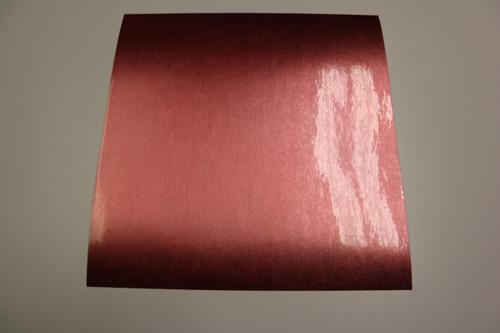 "StarCraft - Chrome - Brushed - Rose Gold - Permanent Vinyl - 12"" x 12"""