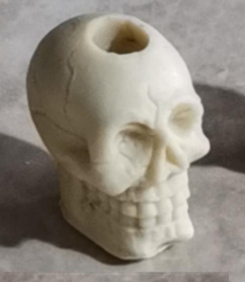 Skull - Straw Topper