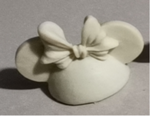 Mrs. Mouse Head - Straw Topper