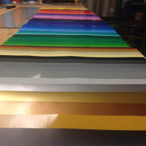 "Oracal 651 - Adhesive vinyl - All Color Bundle - 63 colors - 12"" x 12"" sheets"