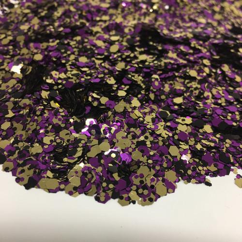 Shimmering Purple - Glitter - Chunky Mix