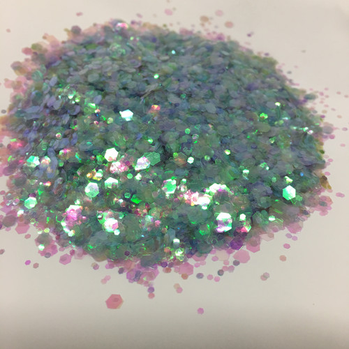 Vote for Lime  - Glitter - Chunky Mix